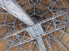 Inside the dome