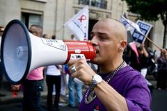 Lesbian & Gay Pride (055) - 28Jun08, Paris (France) (]) Tags: gay portrait paris proud lesbian pride demonstration lgbt speaker homosexual gaypride trans 2008 bi marche manifestation homme megaphone homosexuality fier fiert homosexuel homosexualit marchedesfierts lesbianandgaypride