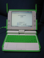 OLPC in notebook mode
