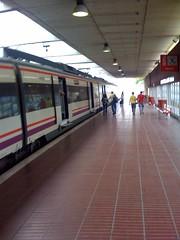 Barcelona Airport Train Station