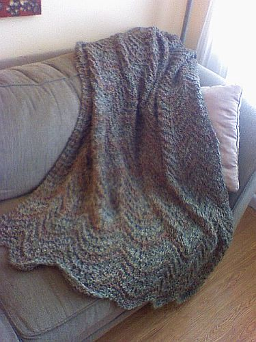 Need Help On Adult Afghan Should I Even Use A Pattern With Homespun