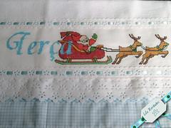 Semaninha: tera-feira (Lila Bordados em Ponto Cruz) Tags: natal decorao cozinha bordado pontocruz panodeprato semanina natalpanodeprato