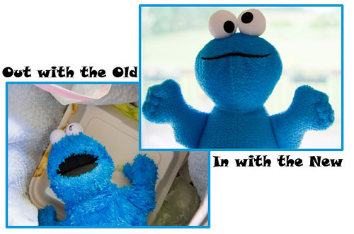 15/365: When Cookie Monster Gets Moldy This Is What Happens