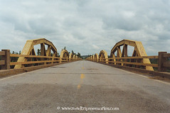 Pony Truss Bridge over the Canadian River - Route 66, Oklahoma