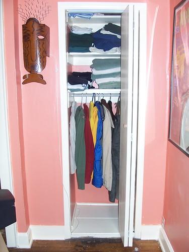 fininshed closet