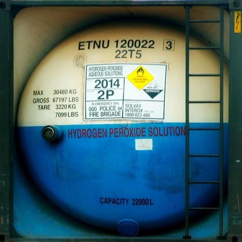 hydrogen peroxide tanker