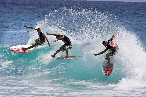 Quiksilver Pro Gold Coast_One two three