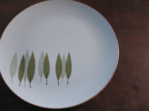 thrifted:: green plate