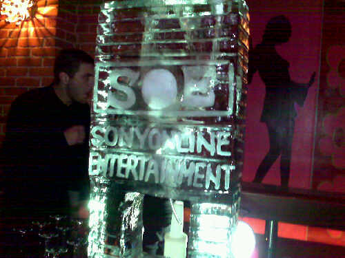 SOE Ice Scultupre