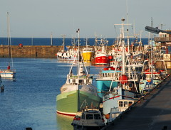 Bridlington Harbour   East Yorkshire (keithhull) Tags: sea coast harbour fishingboats hockney bridlington eastyorkshire bej abigfave envyofflickr betterthangood goldstaraward britishseascapes