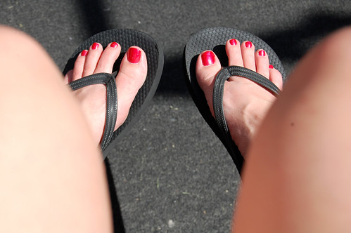 my first pedicure