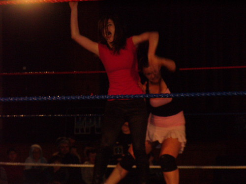 Holly in the ring