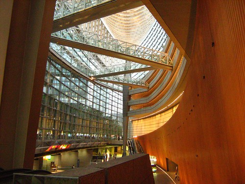 Interior of Tokyo International Forum