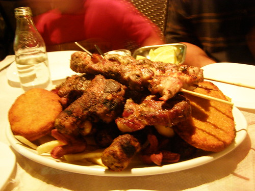 mixed grill poikilia