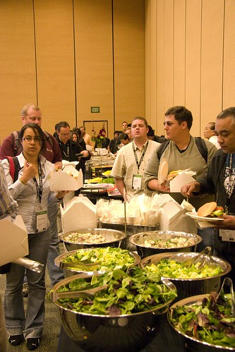Google IO lunch line