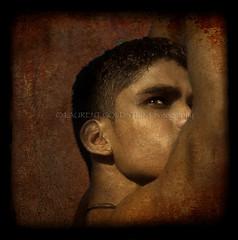 """When you were here before"" (designldg) Tags: portrait people india man eye sepia youth asia body song handsome sensual anatomy varanasi yuva vinod ganges benaras uttarpradesh  indiasong pehlwan articulateimages imperatorvinod"