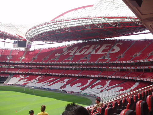 Stadium Of Light - Lisbon. inside the Estádio da Luz