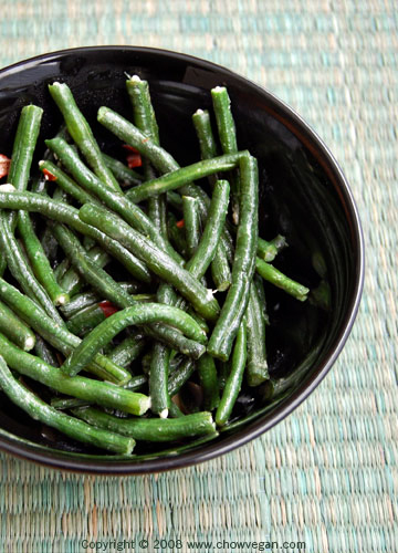 Long Beans with Fermented Bean Curd