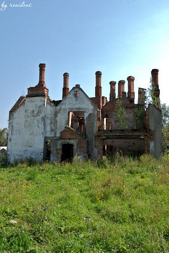 Krekshino - ruinous country estate