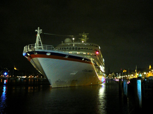 MS C.Columbus in Flensburg