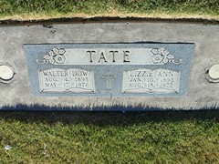My grandparents' grave