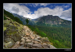 Welcome to The High Tatras in Slovakia (Mariusz Petelicki) Tags: way hdr droga 3xp popradskepleso canon400d mariuszpetelicki tatrysowacke thehightatrasslovakia popradzkistaw canonnefs1022mm mountainsnaps