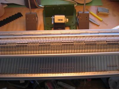 Superba - White Knitting Machine Garter Transfer Carriage #30