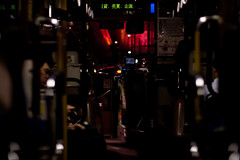 Hyperspace Bus Journey (Jon. Ellis) Tags: red bus japan tokyo journey roppongi  roppongihills hyperspace