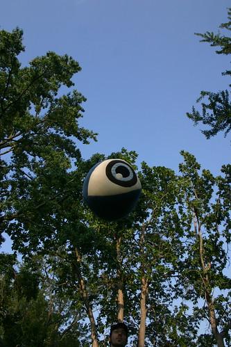 Floating GIANT Roaming Eyeball of DOOM!