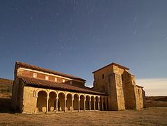 San Miguel de Escalada 10 pm (dnieper) Tags: spain nocturna león monasterio digitalcameraclub sanmigueldeescalada grouptripod