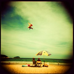 I am either on the beach or on the way to it... (saviorjosh) Tags: china 120 beach mediumformat holga xpro fuji crossprocessing 2008 sanya hainan provia100f summerholiday plasticlens cfn rdpiii