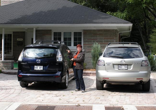 Hélène est sa Mazda 5