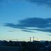ultramarine blue sky