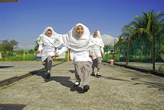 BRU-bandarseribegawan0607-244-v1 (anthonyasael) Tags: camera school girls shadow portrait sky people sunlight playing color childhood smiling horizontal fence children asian outdoors photography three model uniform asia day child looking view tech mr state image muslim release hijab happiness running front full sidewalk only leisure toothy activity cheerful schoolgirl length eastern playful brunei jt enjoyment pathway released islamic ethnicity seri ecstatic bandar begawan darussalam preadolescen