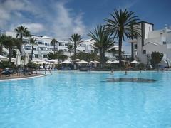 Los Jameos Playa: zwembad