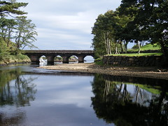 """Bridge over the River Dun"" (Pamela B) Tags: bridge blue trees friends sky plants green water grass leaves reflections northernireland nights mb dun 1001 countyantrim cushendun theunforgettablepictures theperfectphotographer goldstaraward ilovemypics sognidreams flickrlovers"