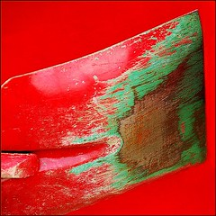 Call a spade a spade (jurek d.) Tags: red green rust nail tools spade 500x500 jurekd anawesomeshot colorphotoaward colourartaward