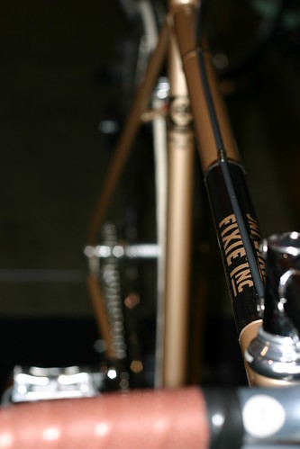 Fixie Inc Blackjack fixed gear bicycle. Photo by Richard Masoner