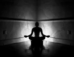 Mantra (paul drzal) Tags: silhouette yoga sitting sad power tired meditation mantra yogapose eskepe mansittingcrosslegged