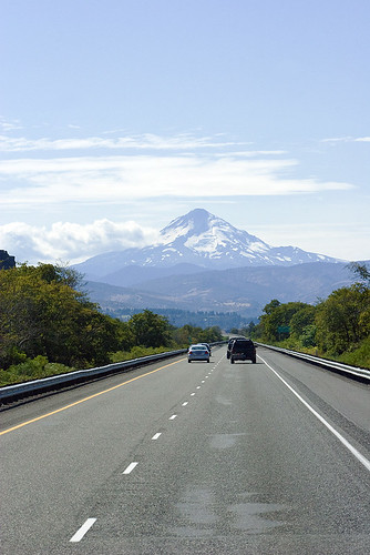 Mount Hood from the road