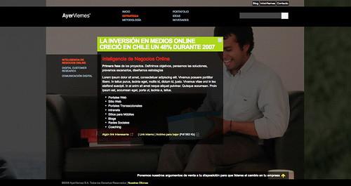 (av) Prototipo de Diseño y Código para nuevo web site