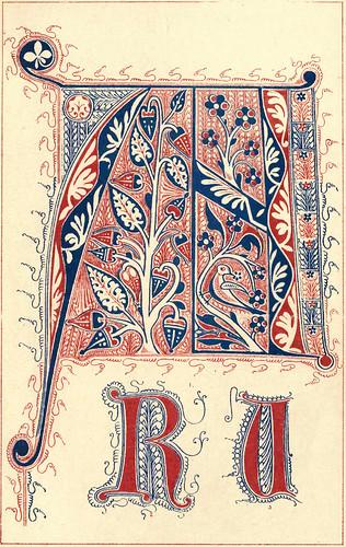 06-Siglo XIV obtenida de libros corales franceses e italianos conservados en el South Kensington Museo
