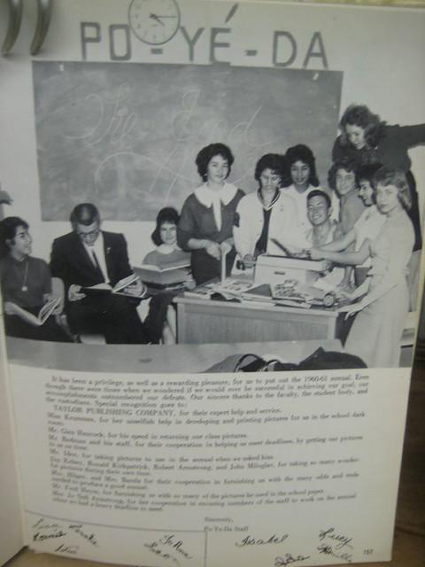 RGHS 1961 YEAR BOOK CLASS REUNION 59-60-61 473 by Jo-An DeArk Torres RGDC AlamedaCC