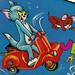 Tom & Jerry toy box
