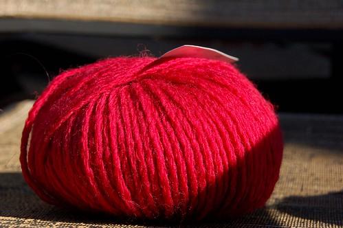 Red Mystery Yarn