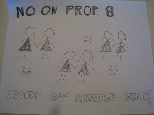 Zelly's No on Prop 8 Flyer