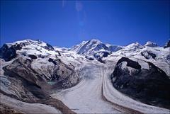 grenzgletscher (Ron Layters) Tags: nordend 4609m dufourspitze 4634m zumsteinspitze 4563m signalkuppe 4556m parrotspitze 4432m ludwigshohe 4341m schwarzhorn 4321m lyskammeast 4527m lyskammwest 4480m flikhorn 4174m pollux 4091m castor 4226m grenzgletscher gornergletscher monterosamassif snow glacier bluesky monterosa valais wallis mountain switzerland zermatt slidefilmthenscanned slide transparency fujichrome velvia leica leicar3 24mm elmaritr12824mm ronlayters geo:lat=45948405 geo:lon=7806473 geotagged highestpositioninexplore335onthursdayjanuary152009 explore interestingness interesting 1k explored