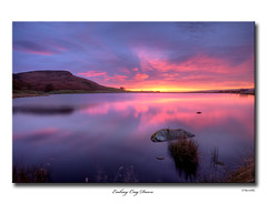 Embsay Crag Dawn (SteveMG) Tags: longexposure lake sunrise landscape yorkshire smg tarn picturesque yorkshiredales 10mm embsay eos50d