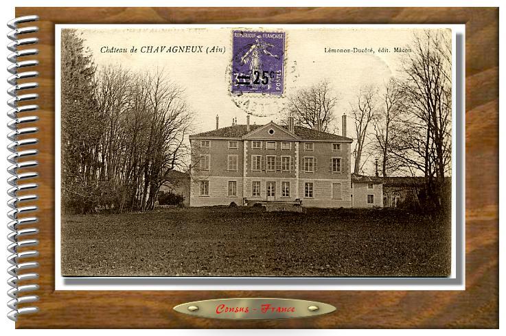 Château de CHAVAGNEUX  (Ain)