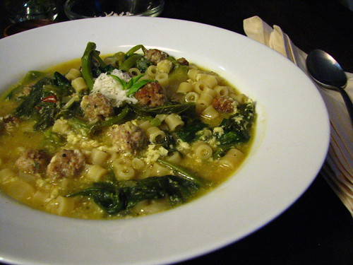 Italian Wedding Soup (Escarole Soup)